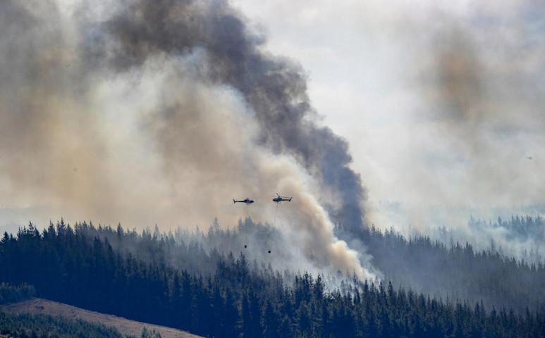 Tűzvész pusztít Új-Zélandon