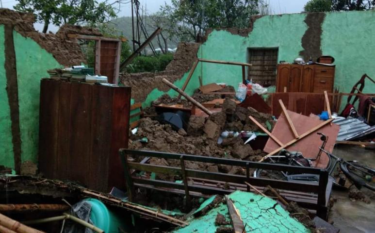 Manipur államot romba döntötte a vihar