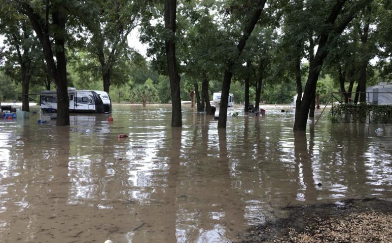 Romboló áradás Mexikóban
