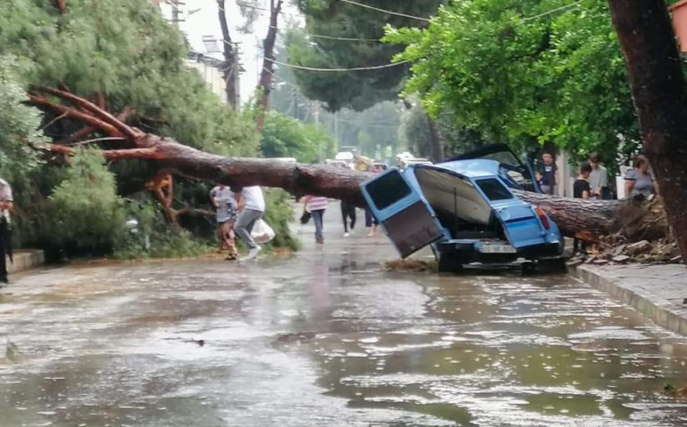 Törökországban a vízerőműveket is megrongálta az áradás