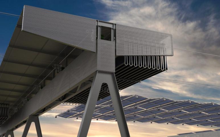 Íme az összehajtható napelem