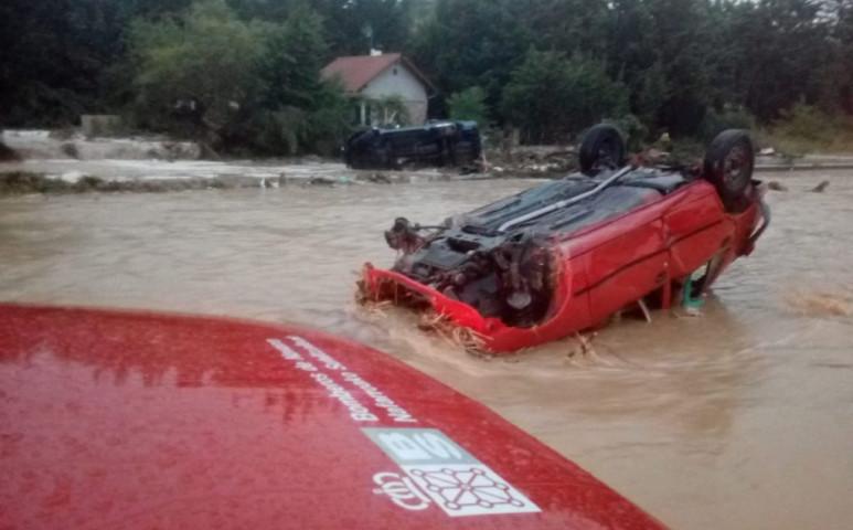 5 métert emelkedett a folyó szintje az eső miatt Navarra régióban