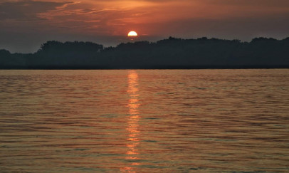Napfelkelte a Dunán