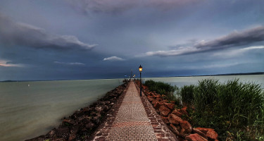 A viharos Balaton