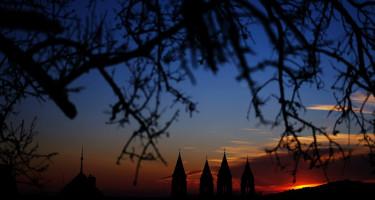 Pécsi naplemente