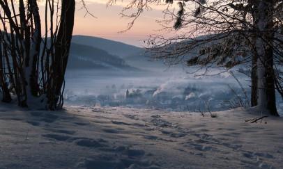 Tél a Bükkben