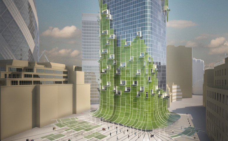 Fotoszintetizáló épületeké a jövő?