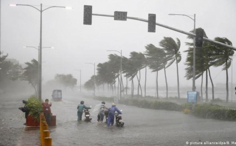 Megjött Bailu és 500 mm esőt hoz egyetlen nap alatt