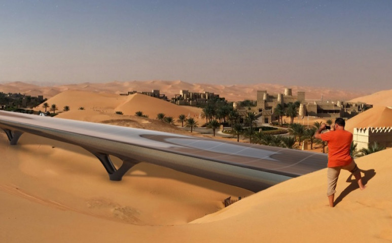 Kizöldül a Hyperloop