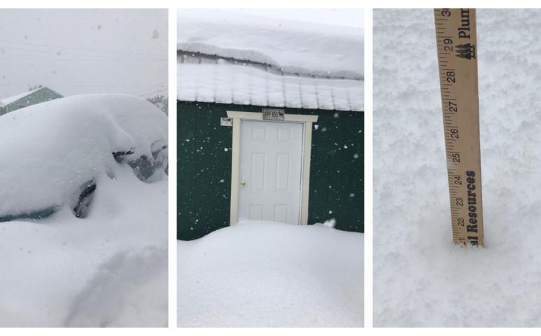 90 centi havat kap a nyakába Montana