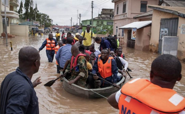 Ghánában 28 halálos áldozatot követelt az áradás