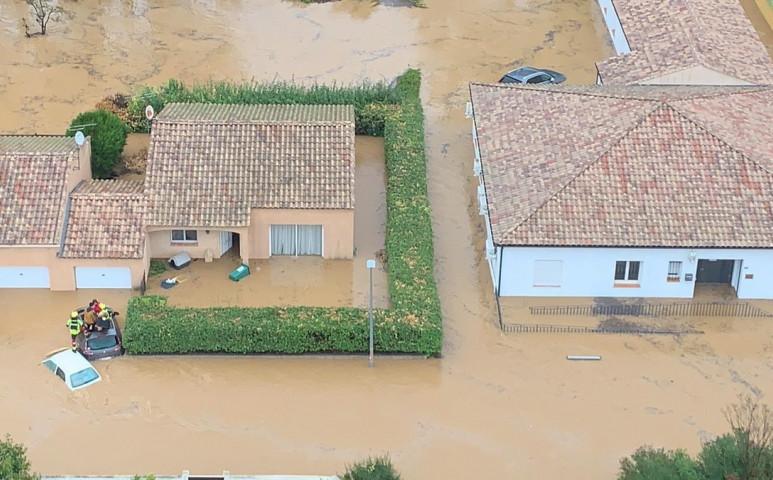 3 halálos áldozata van a francia áradásnak