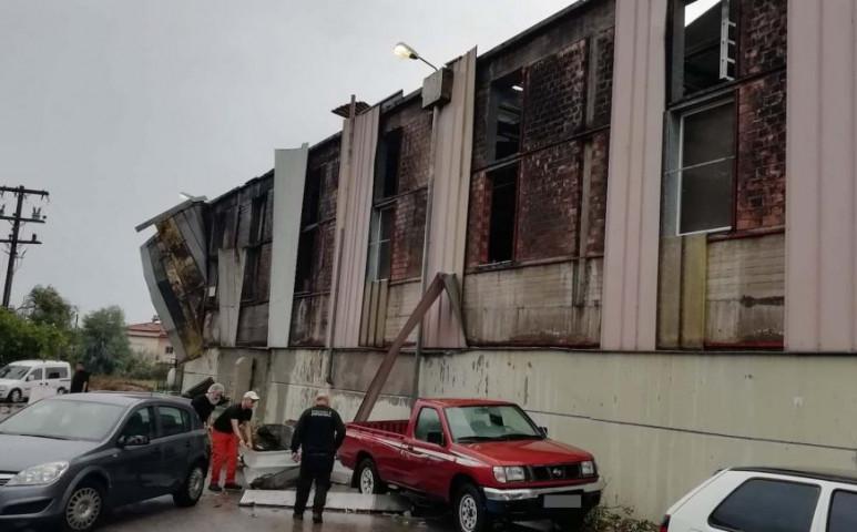 Tornádó rombolt Görögországban