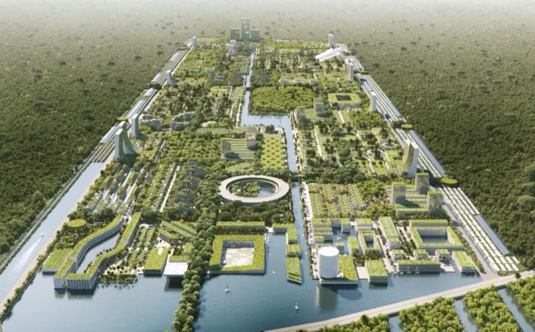 Mexikóban új, élhető város tervével állt elő egy cég