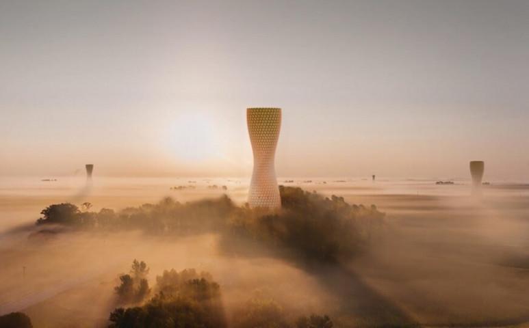 Delhi futurisztikus megoldást talált a légszennyezettség problémájára