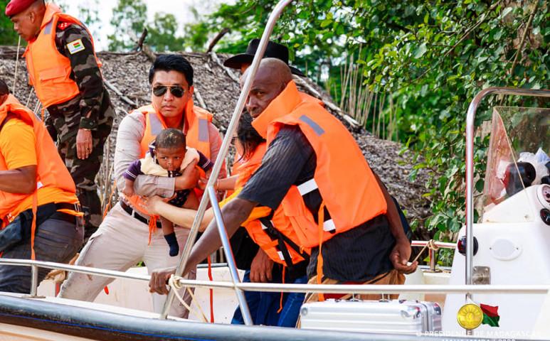 Madagaszkáron durva áradás pusztít