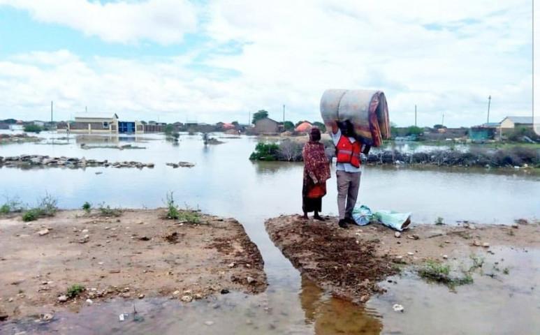 Hidat is vitt az áradás Kenyában