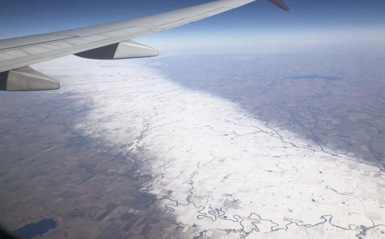 Kivételesen ritka időjárási jelenség Kansasban