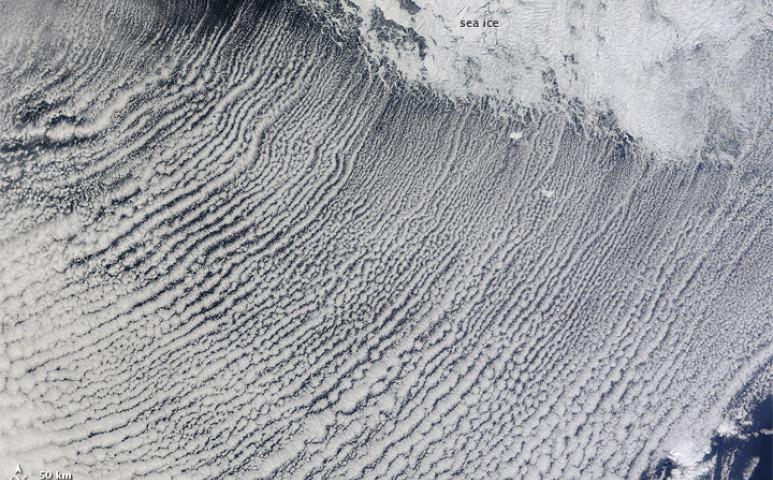 Érdekes jelenség alakult ki a Labrador-tenger felett