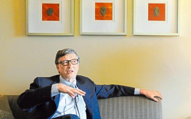 Bill Gates és az ő WC-je