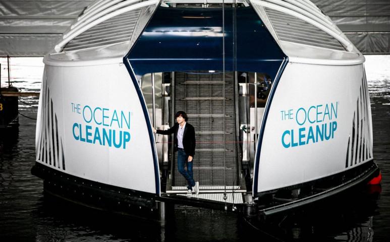 1000 folyót akar megtisztítani pár éven belül a The Ocean Cleanup