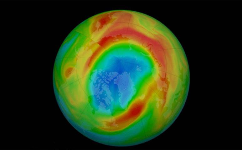Veszélyesen vékony az ózonréteg az Északi-sark felett
