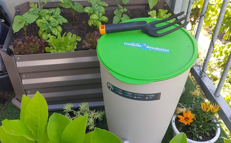 Komposztálás a balkonon kellemetlen szagok nélkül