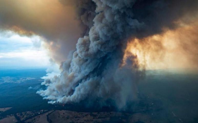 Az Ausztrál tűzvész több co2-őt juttatott a levegőbe, mint az országok 95%-a