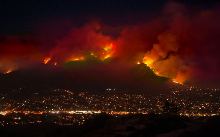 Hollywood a tűz martalékává válik?