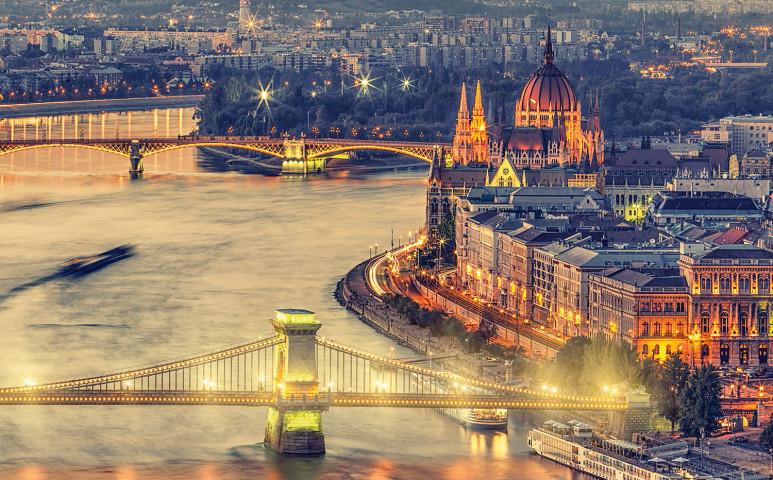 A régió egyik legjobban melegedő városa Budapest