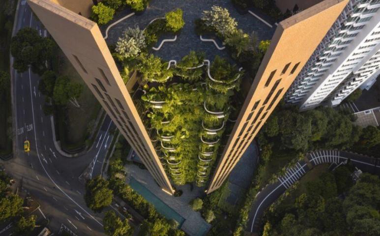 Szingapúr környezettudatos ékkövét álmodták meg az építészek