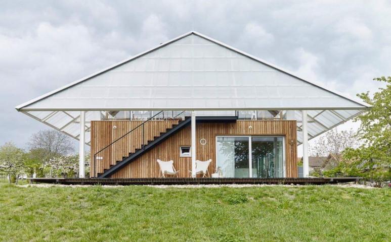Üvegház a tetőn - így is lehet