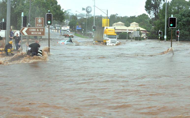 Pusztító áradás volt Jordániában
