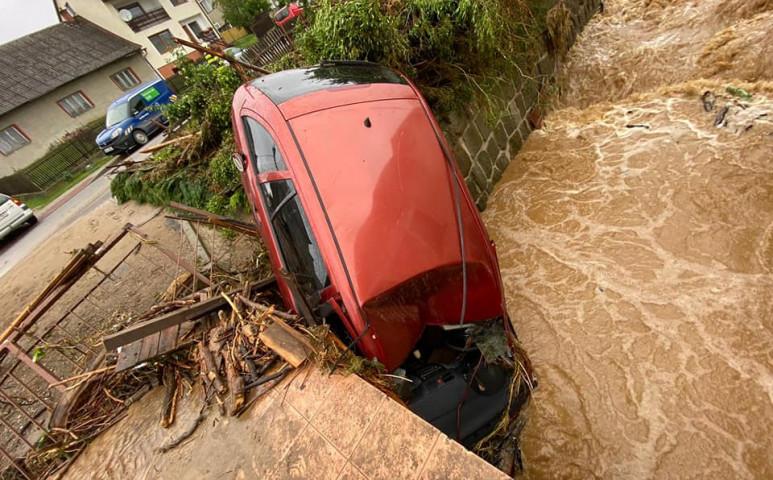 Erős áradás a cseheknél