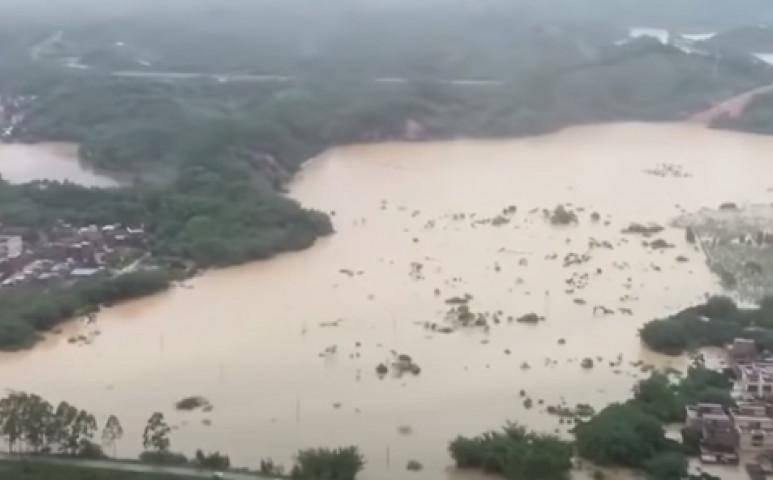 2.6 millió embert érintő áradás van Kínában