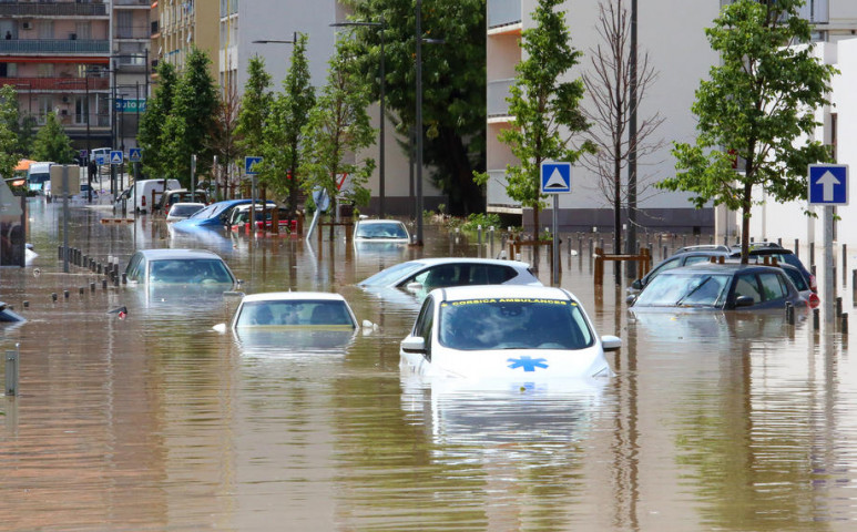 Két hónapnyi esőt kapott Korzika két óra alatt