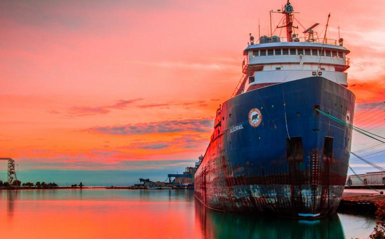 Bárhol ellenőrizni lehetne a hajók károsanyag - kibocsátását!
