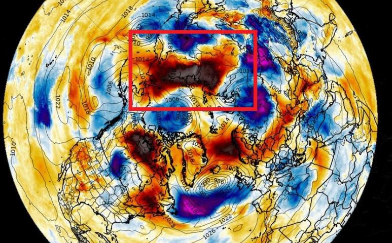 Rekordmeleg 38 fokos hőmérsékletet mértek az északi sarkkörön túl