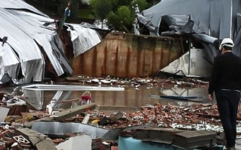 Bombogenesissel érkezett a ciklon a brazilokhoz