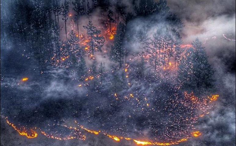 Újra tűz tombol Szibériában