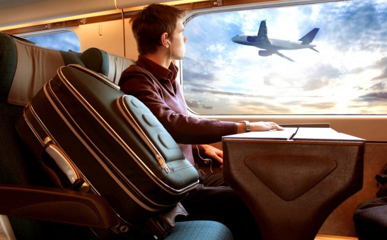 Az osztrákok vonatra cserélték a repülőt