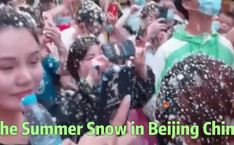 Havazott a nyár közepén, Pekingben
