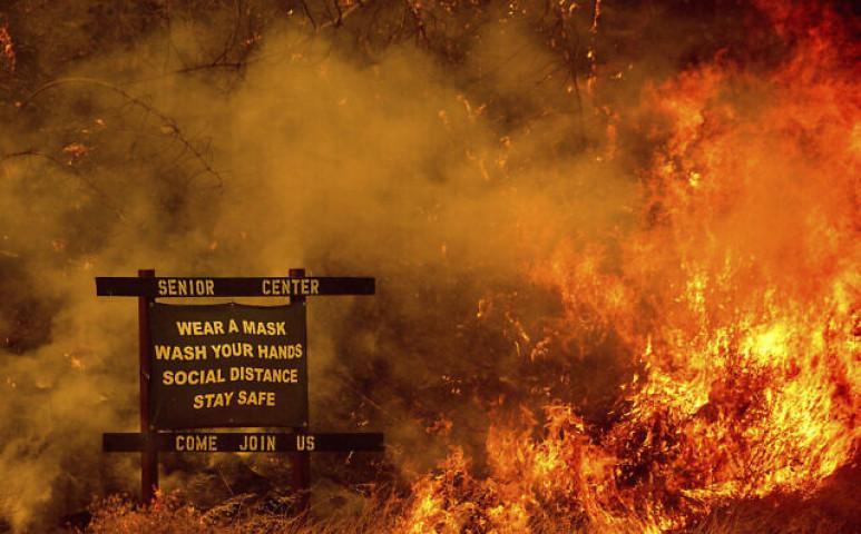 Felzabálják Kaliforniát a klímaváltozás tüzei