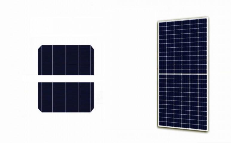 Megfelezve hatékonyabb a napelem!