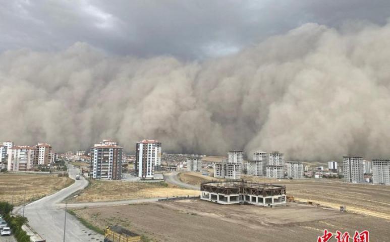 Durva homokvihar a törököknél