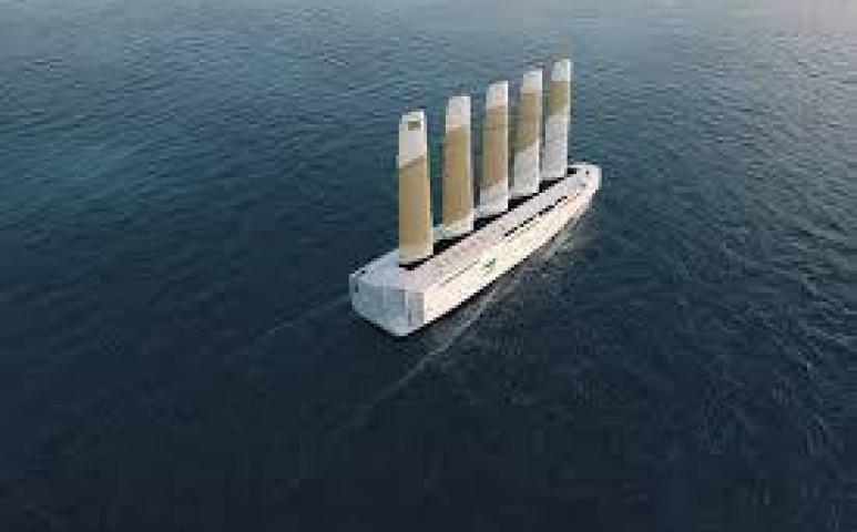 Érkezik a vitorlás teherhajó