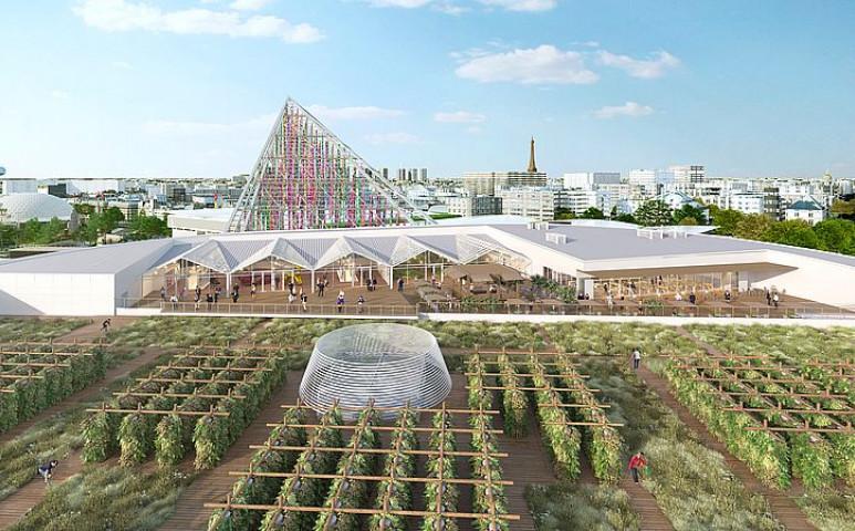 14 000 négyzetméteres tetőkert épül Párizsban