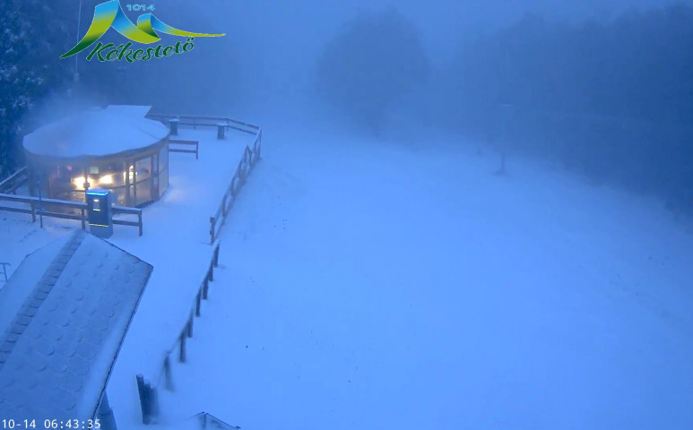 Kopogtat a tél - havazik a hegyekben!