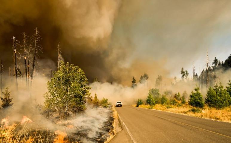 A Kaliforniai tűz füstje a napenergia termelésre is komoly hatással van