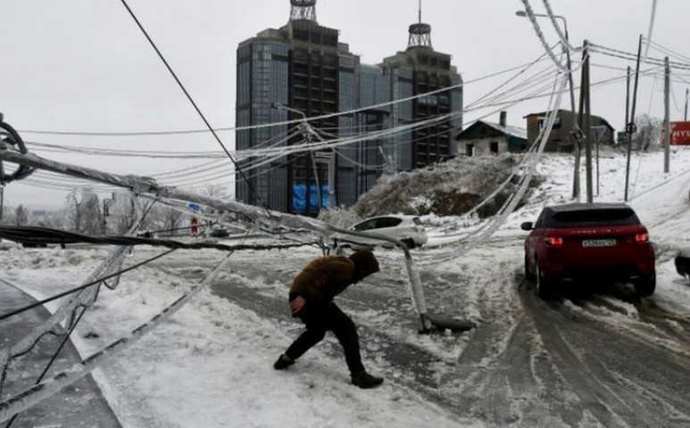 Bénító jégpáncél tett be a Távol-Kelet legfontosabb legfontosabb infrastrukturális rendszereinek